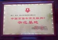 中国百qiang牛商互联网+示范基地